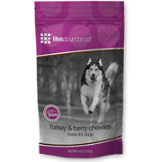 Grain Free Turkey & Berry Chewies