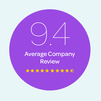 9.4 Average Company Review