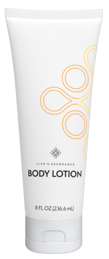 Life's Abundance body lotion