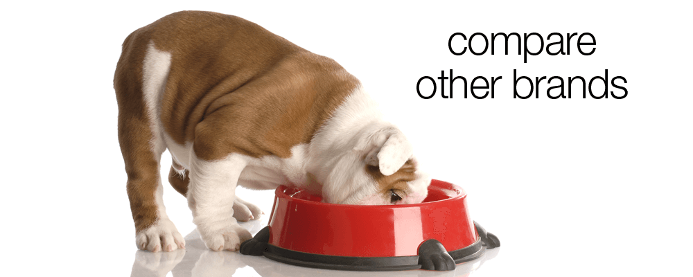 Compare Dog Food >> How Other Brands Compare To Our Dog Food