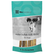 Life's Abundance Buffalo Bully Sticks Package