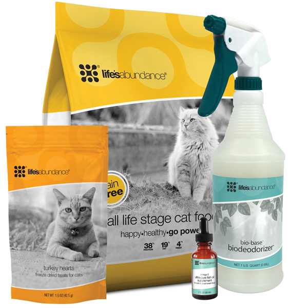 Life's Abundance Healthy Start Pack For Cats Grain Free