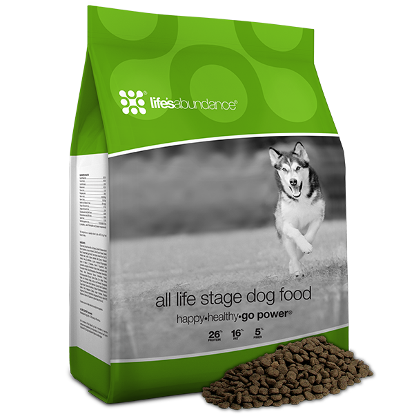 All Life Stage Dog Food Happy Healthy Go Power