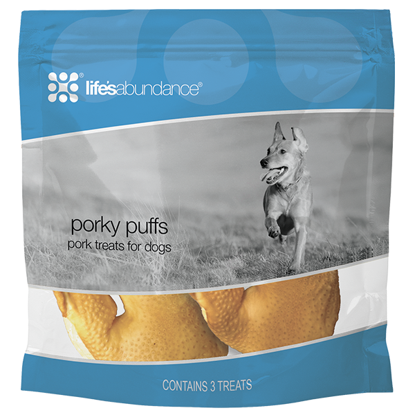 Life's Abundance Porky Puffs for Dogs